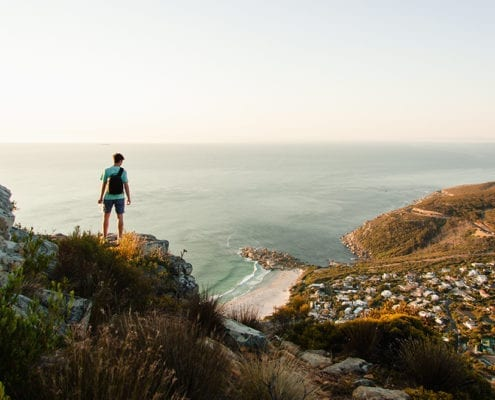 top 5 hiking groups in cape town Llandudno Tim Johnson