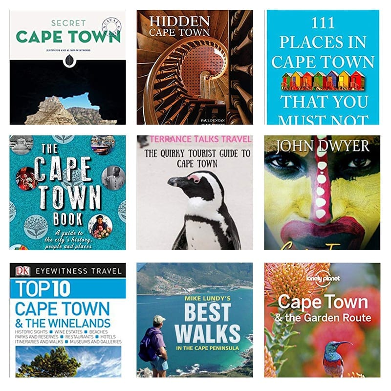 Top 10 Cape Town Travel Guide Books