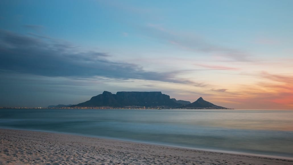 Top 10 beaches in Cape Town - Bloubergstrand Beach