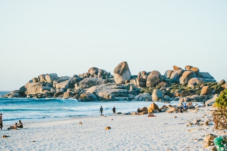 Top 10 beaches in Cape Town - Llanduno Beach