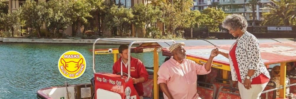 Things to do on Valentines Day in Cape Town 2021 - Canal of Love Cruise with Citysightseeing Cape Town